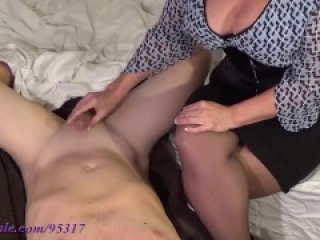 Edging Femdom Handjobs (Porn Commentary, Goddess_By_Night)